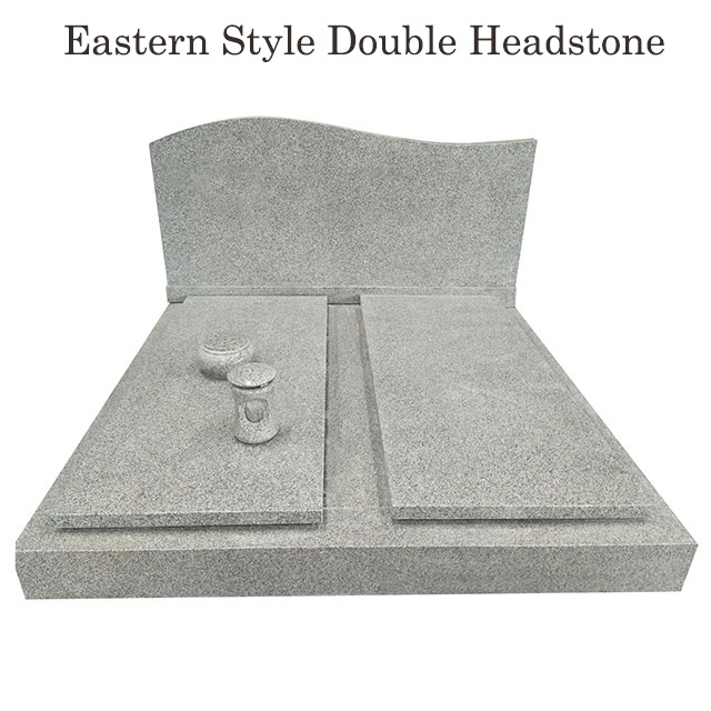 eastern style companion headstones