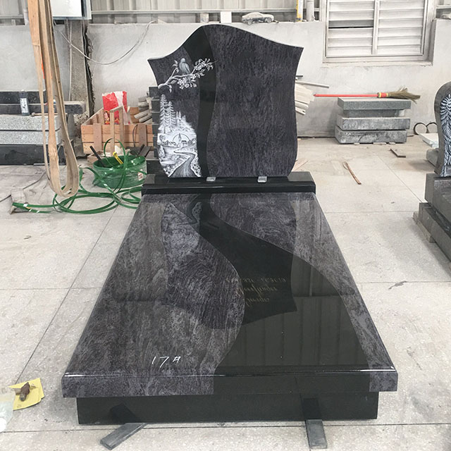 Frame Carved Headstone