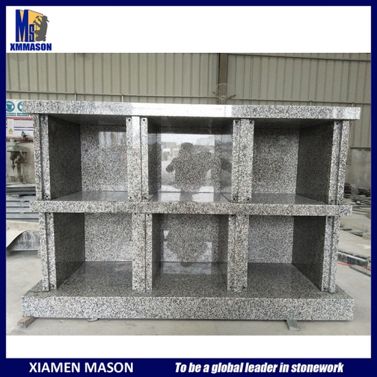 French Columbarium Granite 6 Niches