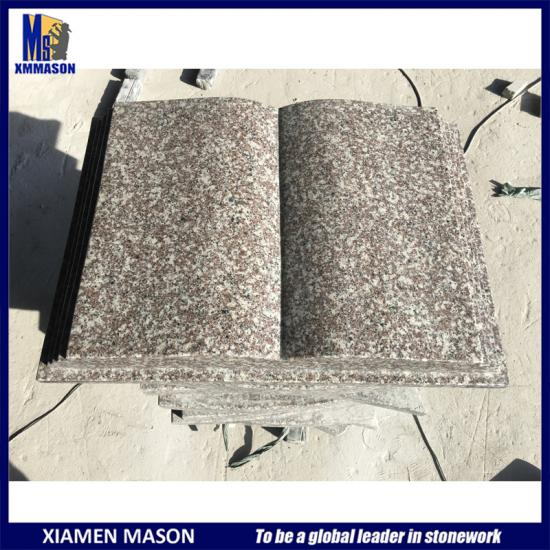 Book Shaped Granite Memorials