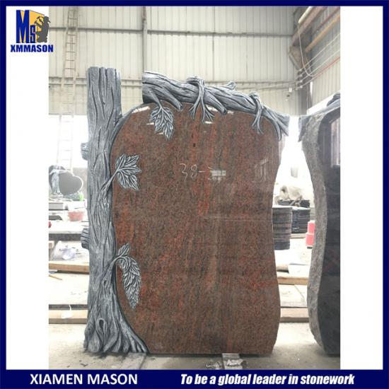 Tree Style Granite Tombstones