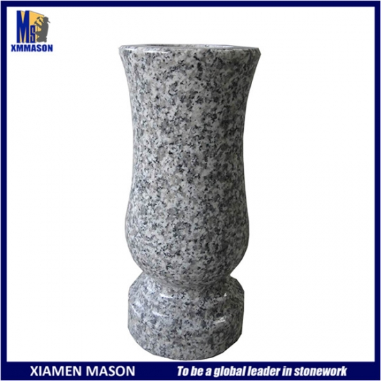 Light Gray Stone Vases